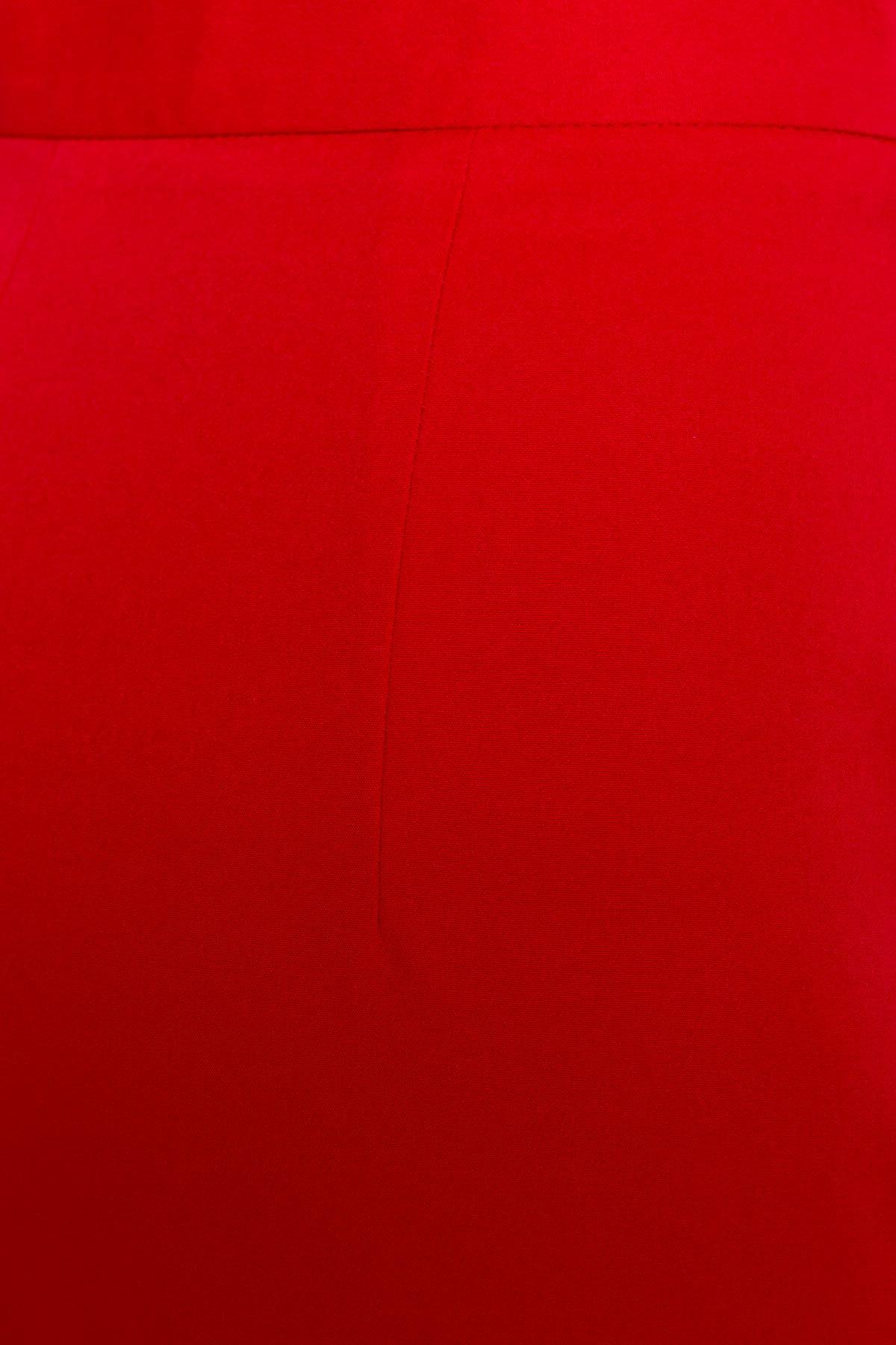 Широкие Брюки Мадлен 2788 АРТ. 15266 Цвет: Красный - фото 3, интернет магазин tm-modus.ru
