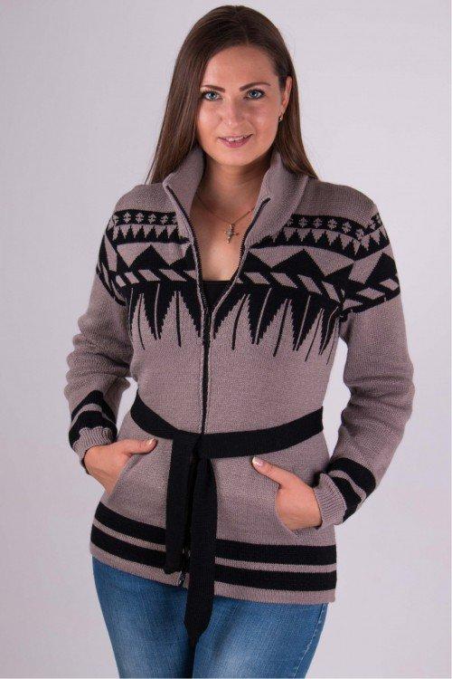 модели вязаных свитеров для женщин Кофта Ириска