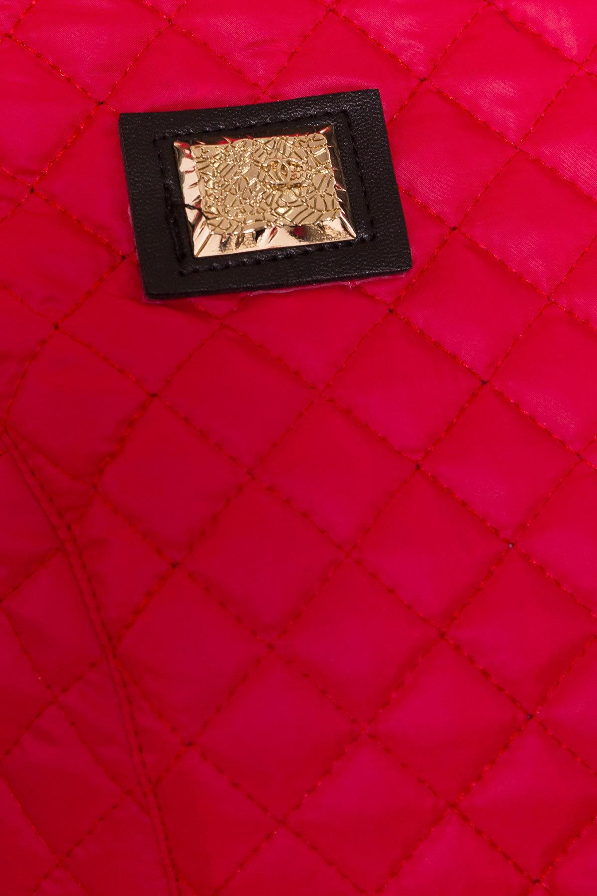 Пальто Матео 4809 АРТ. 5654 Цвет: Красный/Серый 1  - фото 4, интернет магазин tm-modus.ru