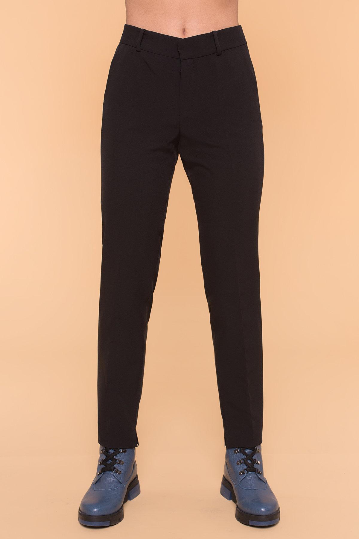 Базовые брюки со стрелками Эдвин 2467 АРТ. 16304 Цвет: Черный - фото 6, интернет магазин tm-modus.ru