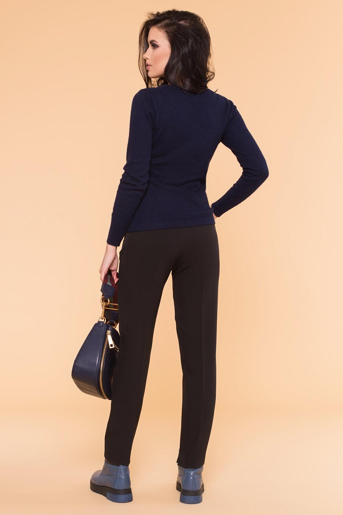 Базовые брюки со стрелками Эдвин 2467 АРТ. 16304 Цвет: Черный - фото 4, интернет магазин tm-modus.ru