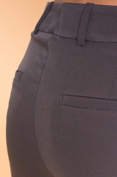 Базовые брюки со стрелками Эдвин 2467 Цвет: Темно-серый