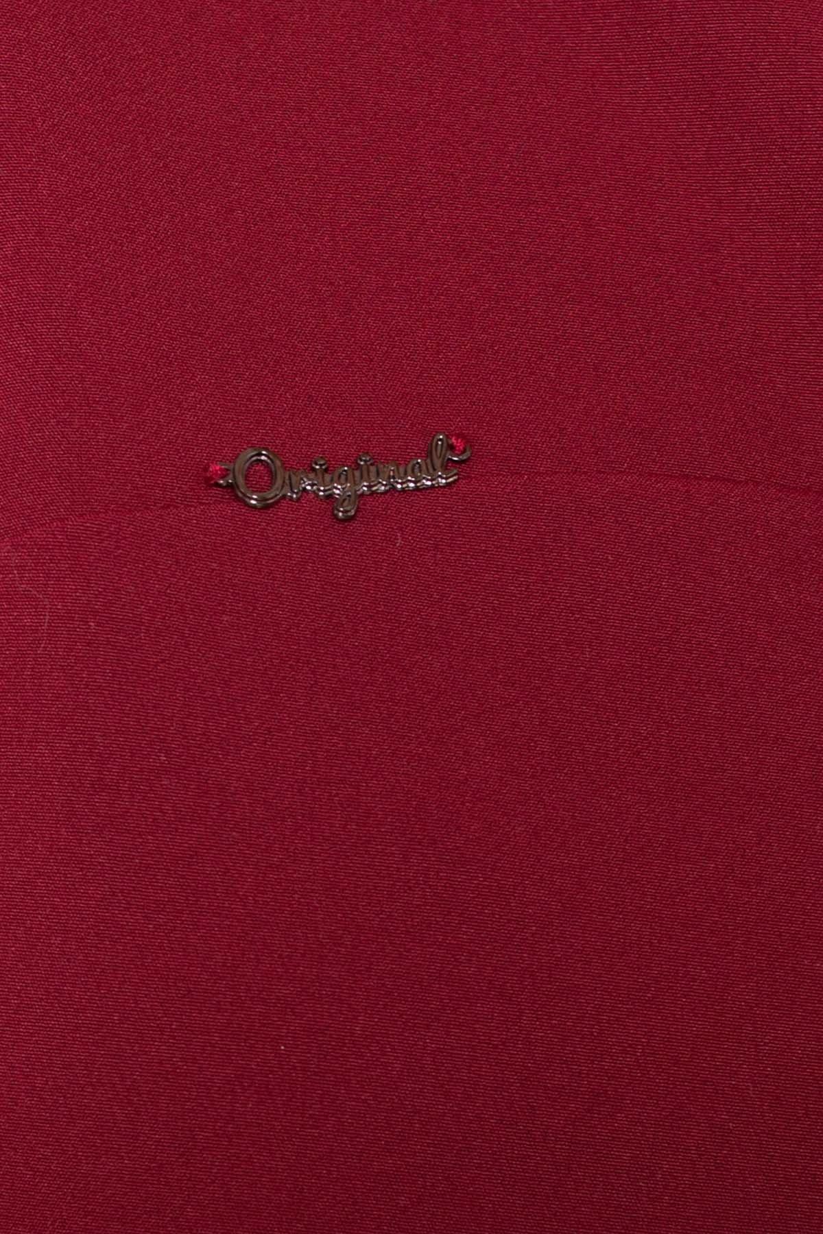 Платье Делафер 3245 АРТ. 16715 Цвет: Марсала - фото 4, интернет магазин tm-modus.ru