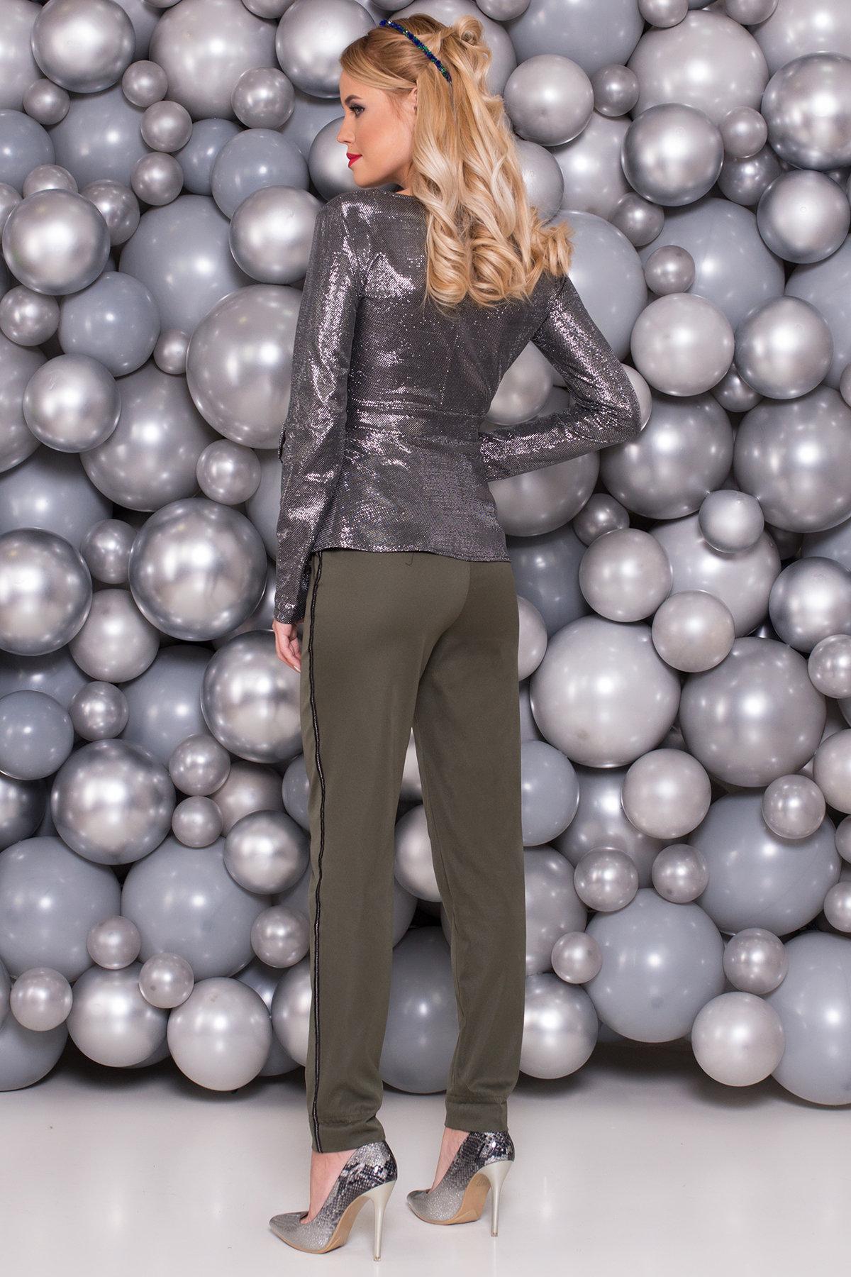 Блуза Марсо 6010 Цвет: Серебро