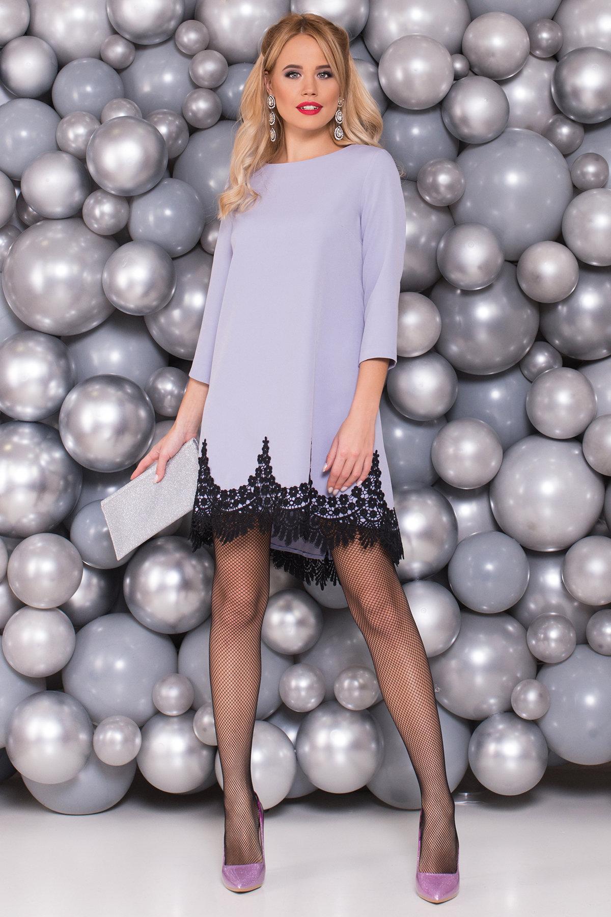 Платье Лера 5481 Цвет: Серый