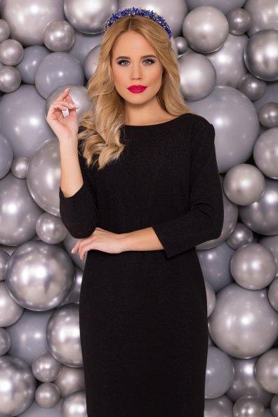 Черное Платье Фаина 5689 Цвет: Черный