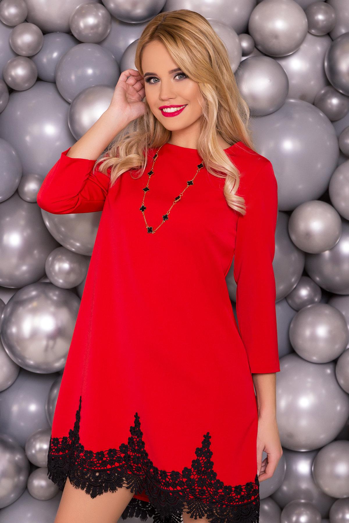 Платье Лера 5481 Цвет: Красный