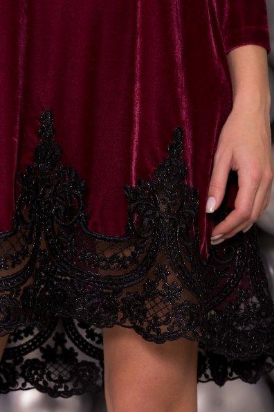 Платье Валери 4190 Цвет: Марсала