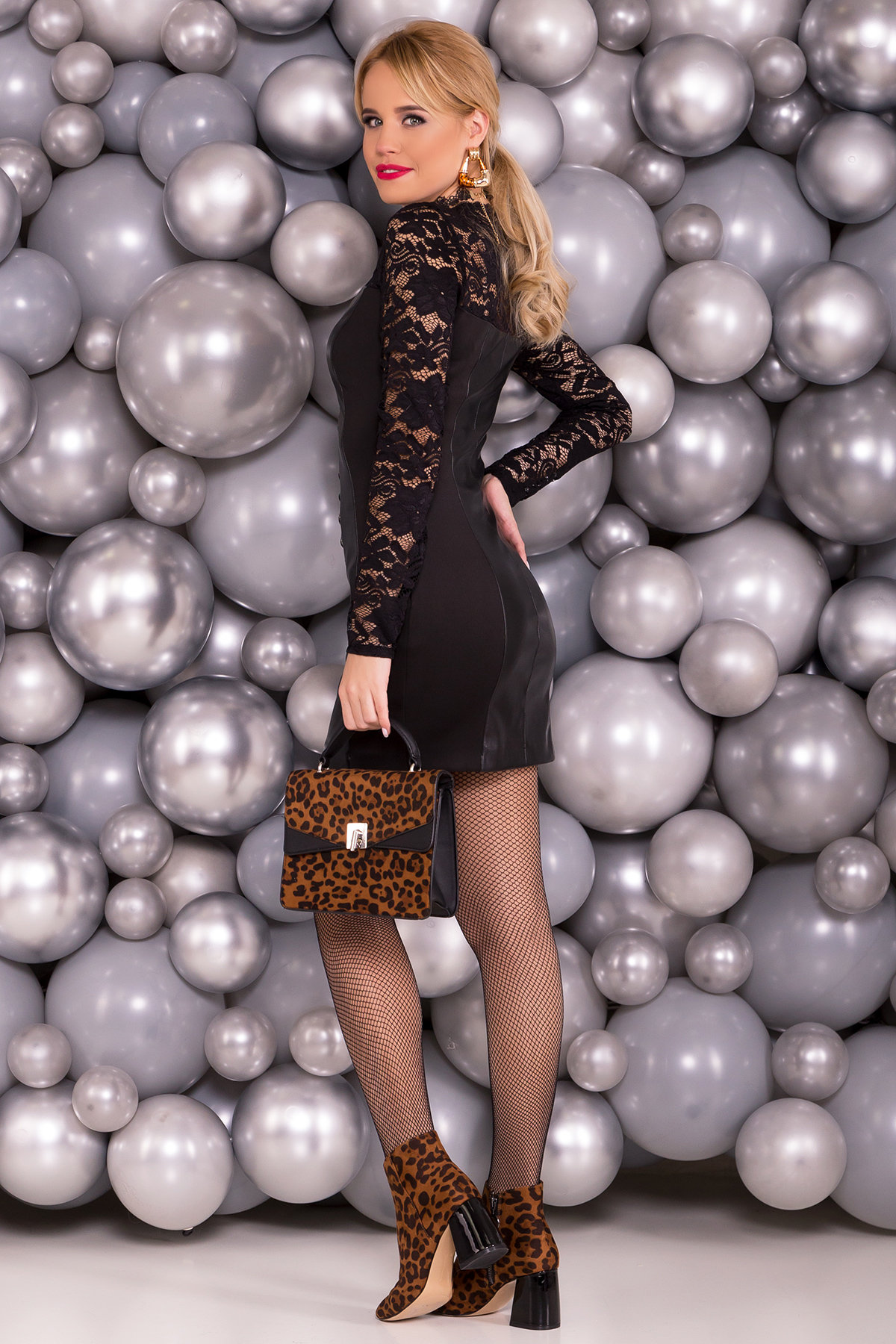 Платье Гретта 4156 Цвет: Черный