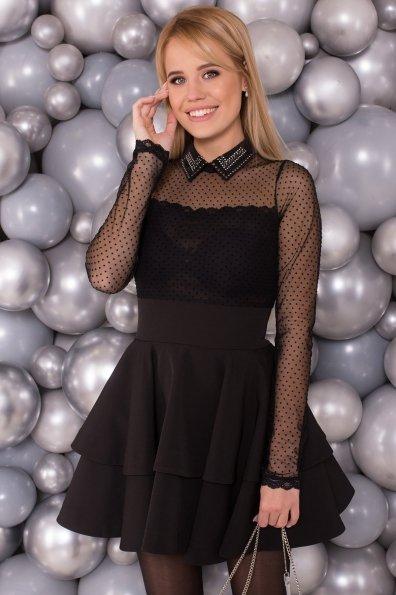 Платье Аделиса 4506 Цвет: Черный
