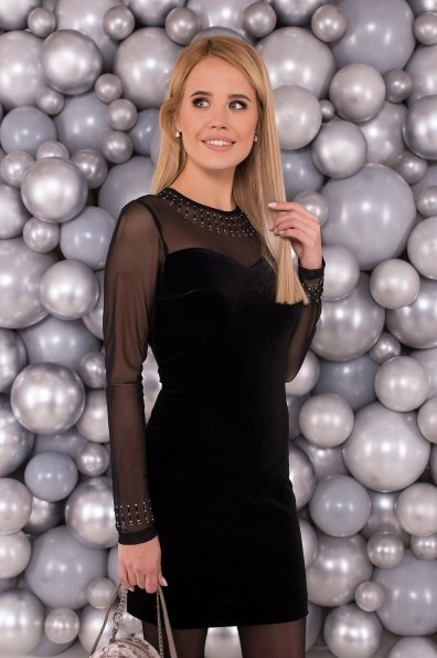 Платье Шая 4166 Цвет: Черный