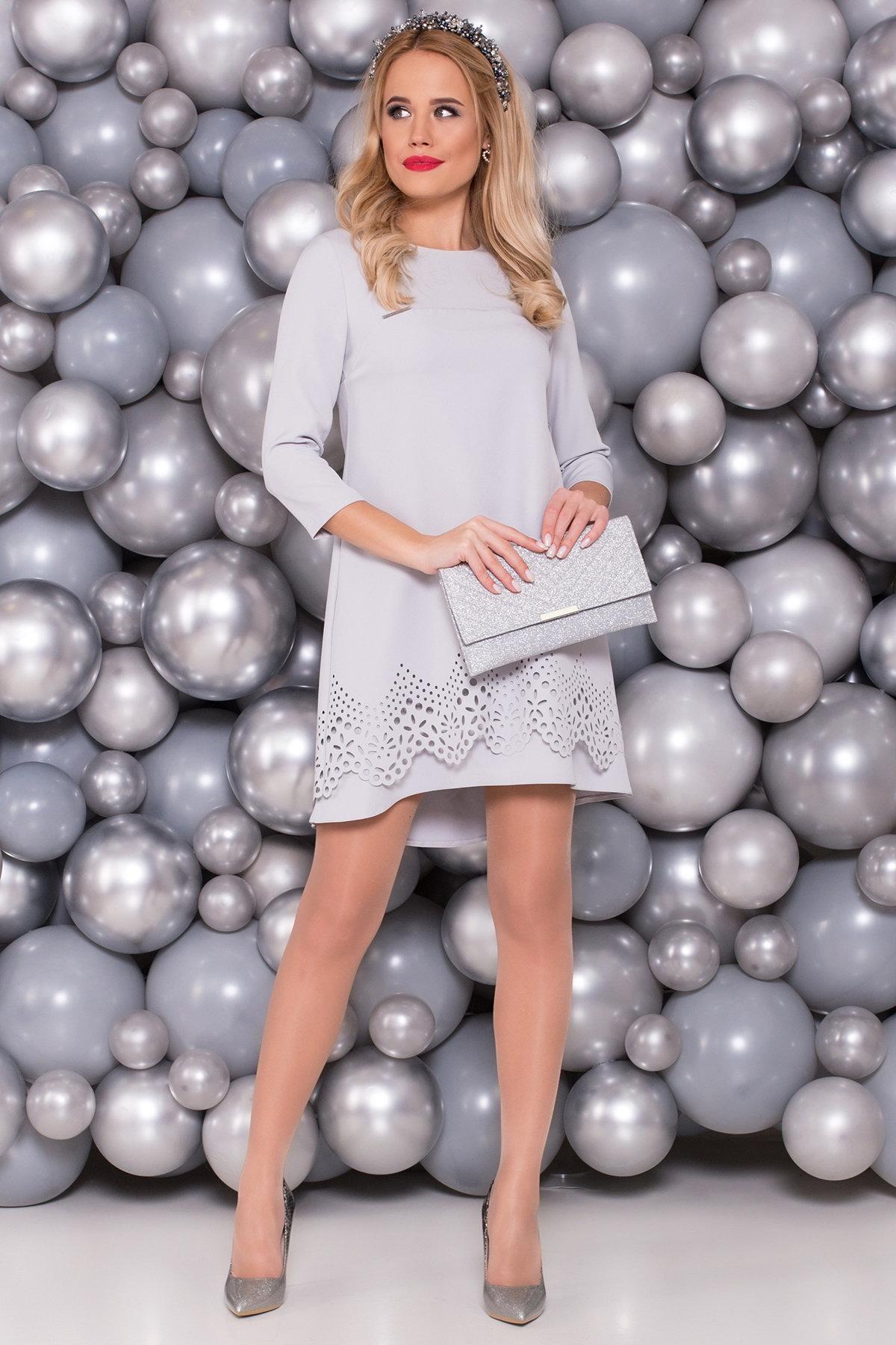 Платье Эбби 5475 Цвет: Серый