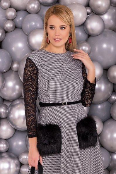 Платье Кассия 3851 Цвет: Черный/белый2/1