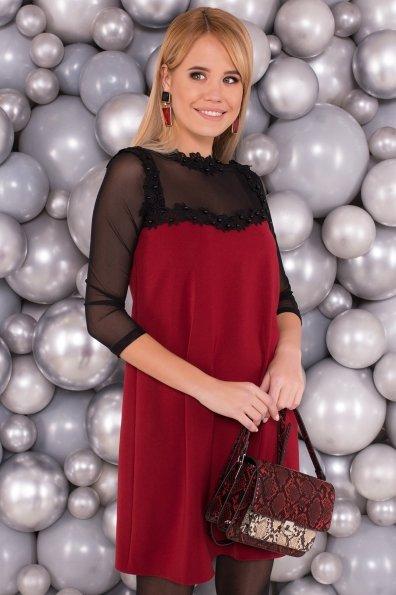 Платье Мусс 5485 Цвет: Марсала