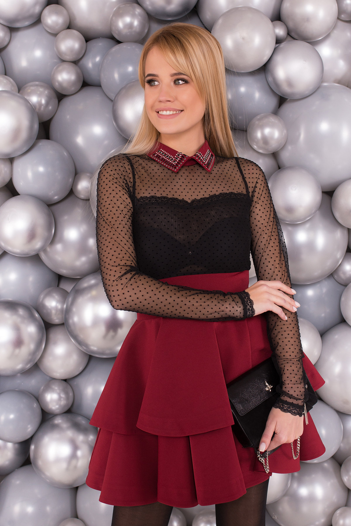 Платье Аделиса 4506 Цвет: Марсала