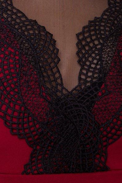 Платье Абико 5516 Цвет: Марсала