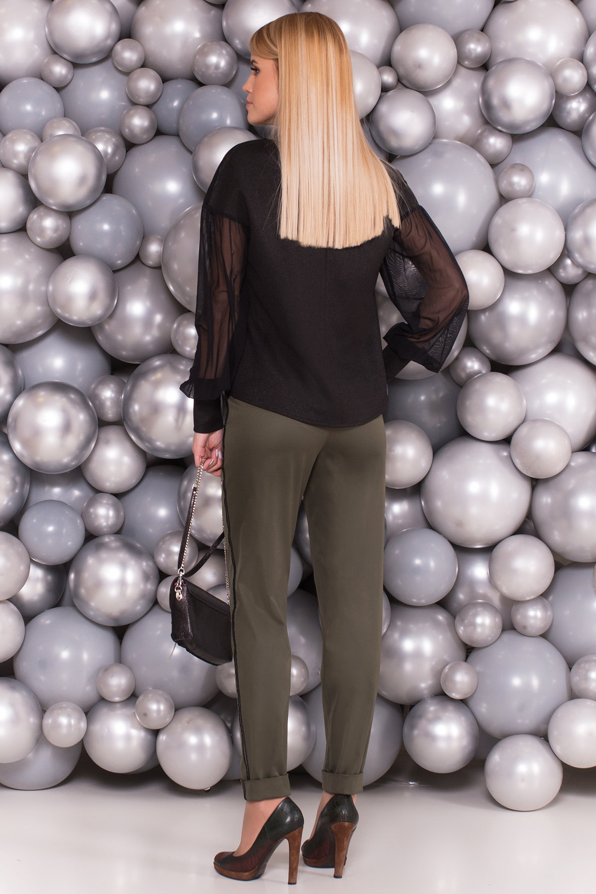 Блуза Лавели 5800 Цвет: Черный