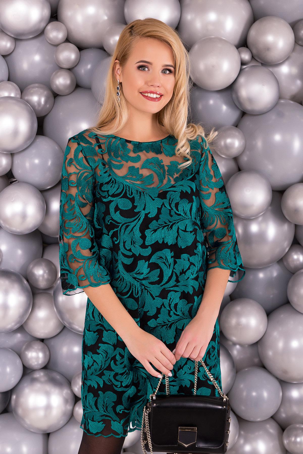 Платье Гейла 4135 Цвет: Зеленый