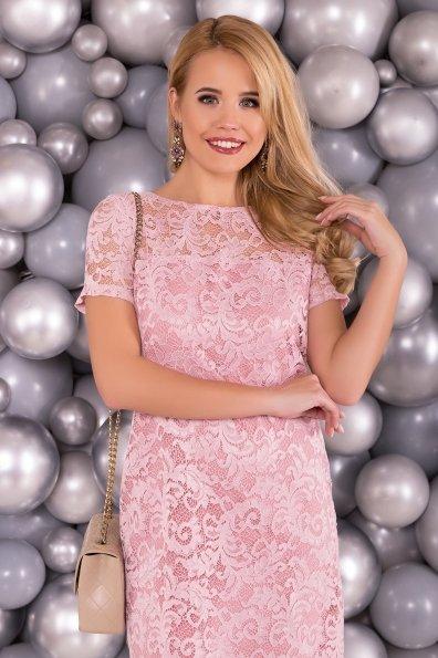 Платье Винтаж 3107 Цвет: Розовый Темный