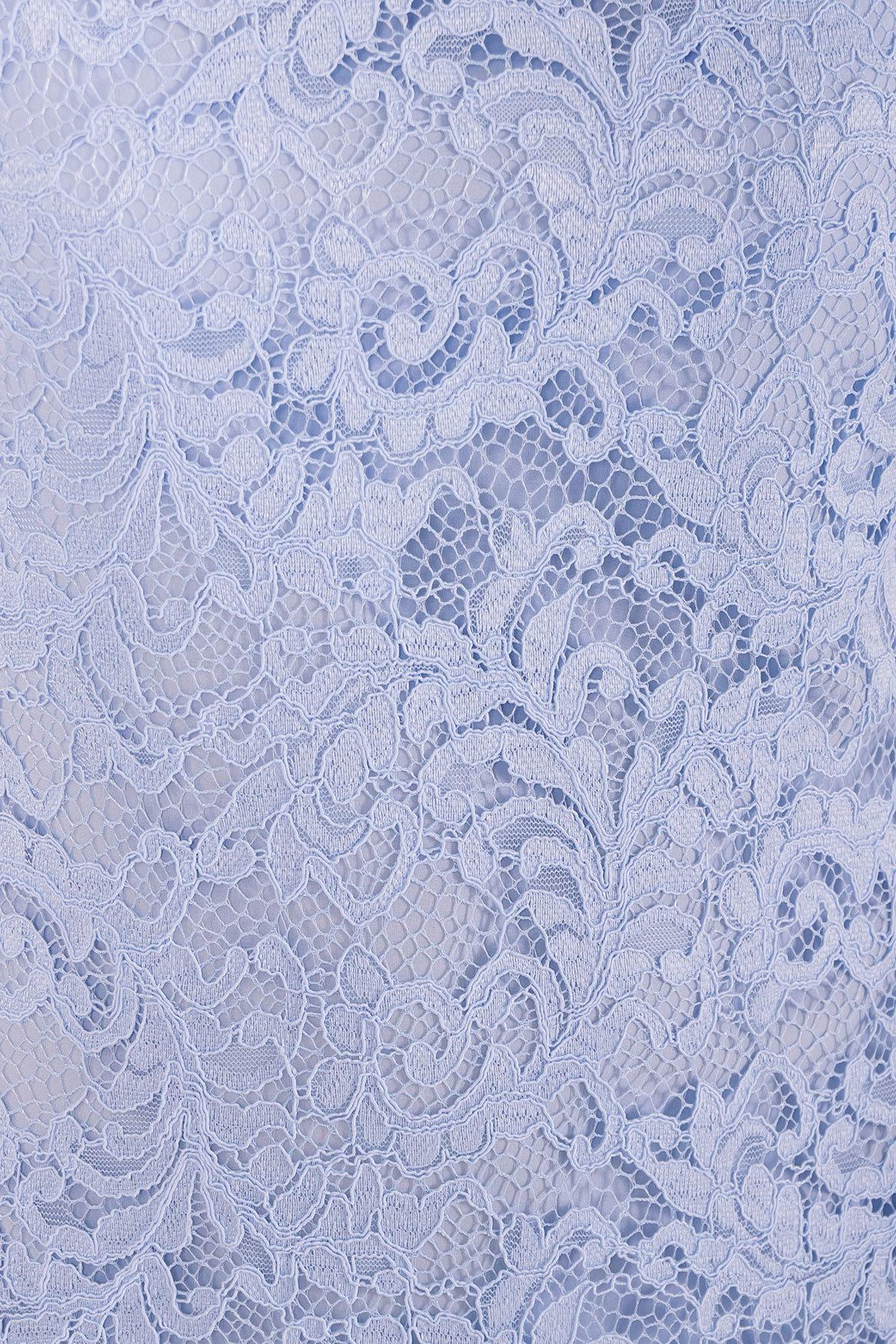 Платье Винтаж 3107 АРТ. 16056 Цвет: Голубой - фото 4, интернет магазин tm-modus.ru