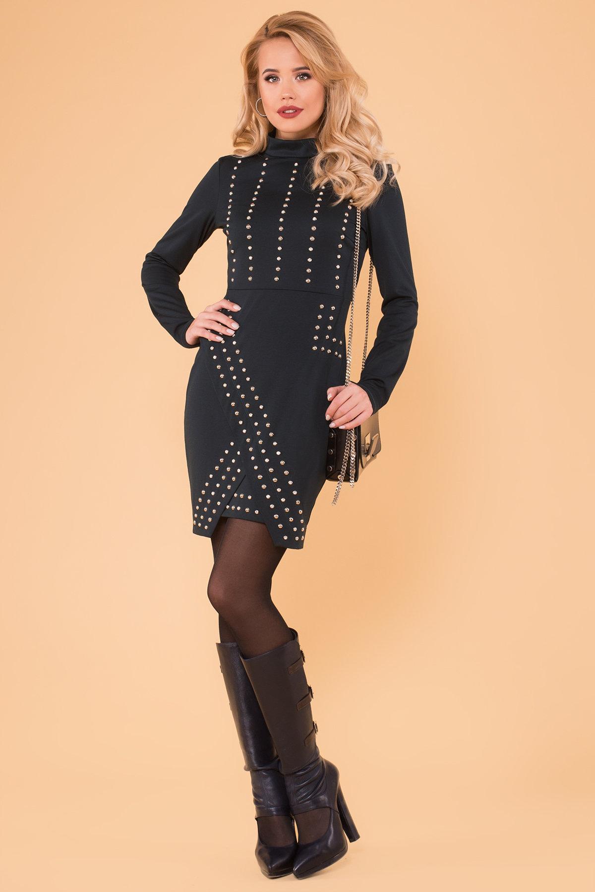 платья оптом Облегающее короткое Платье Дюке 4430