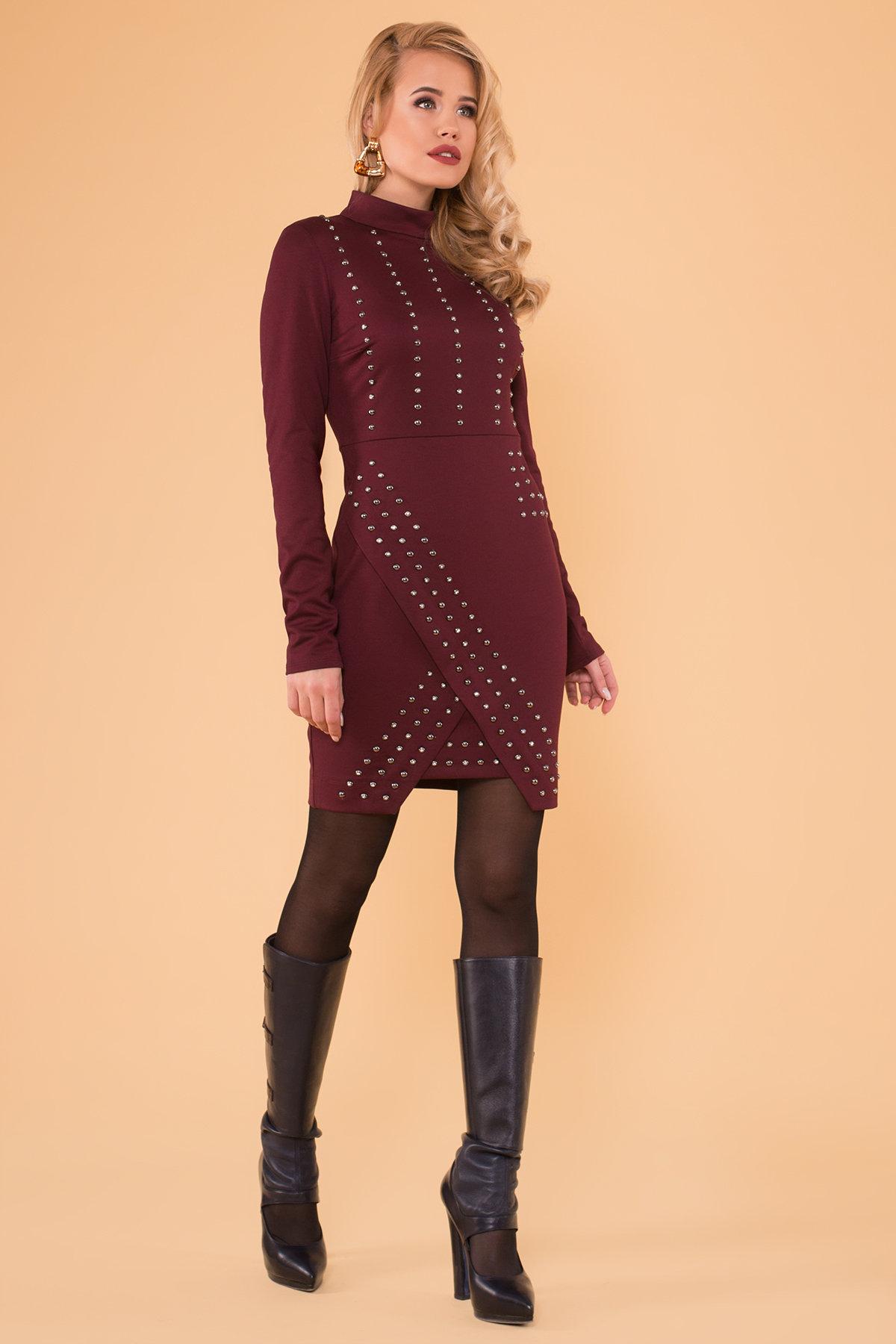 Платье Дюке 4430 Цвет: Бордо