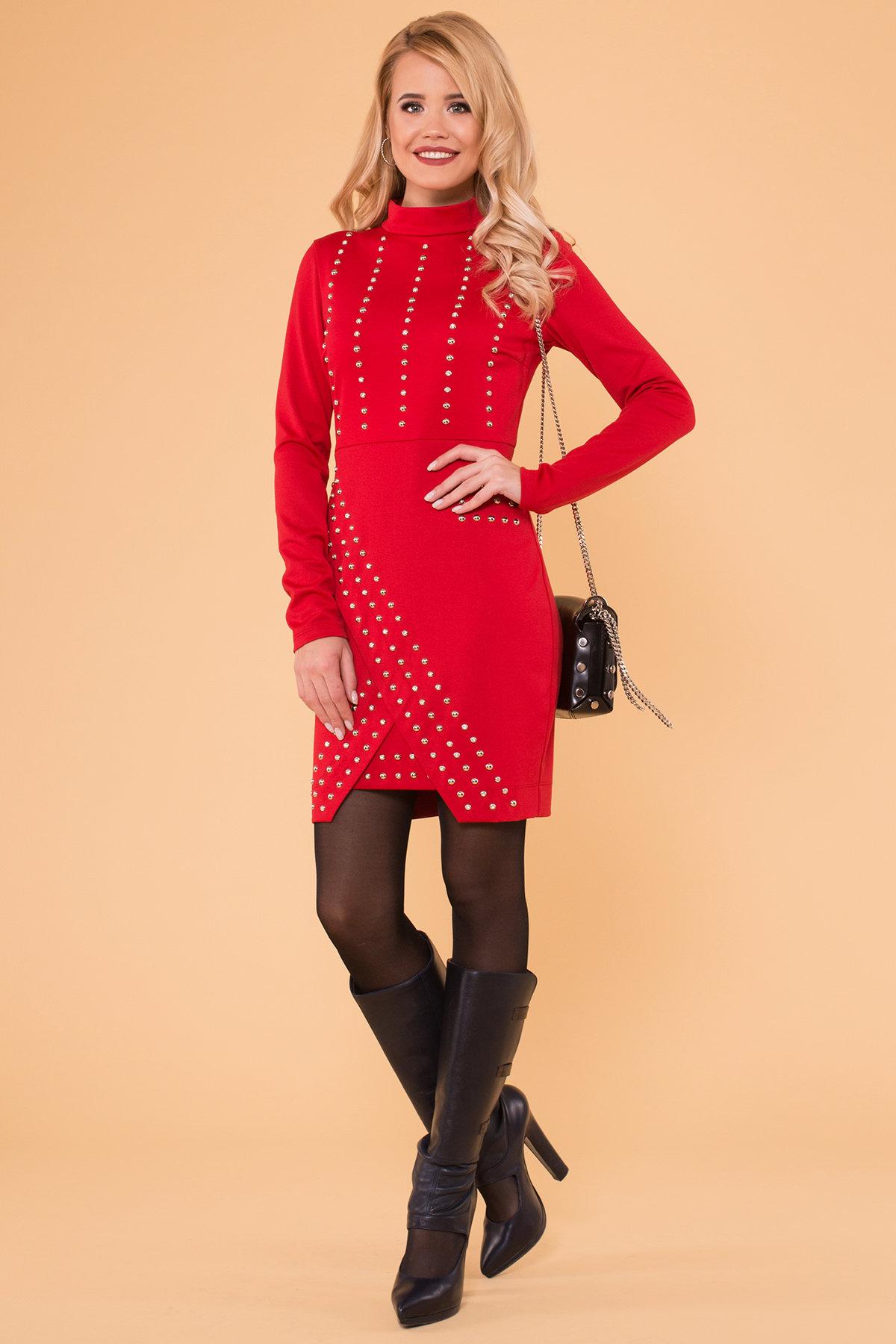 женские платья оптом Облегающее короткое Платье Дюке 4430