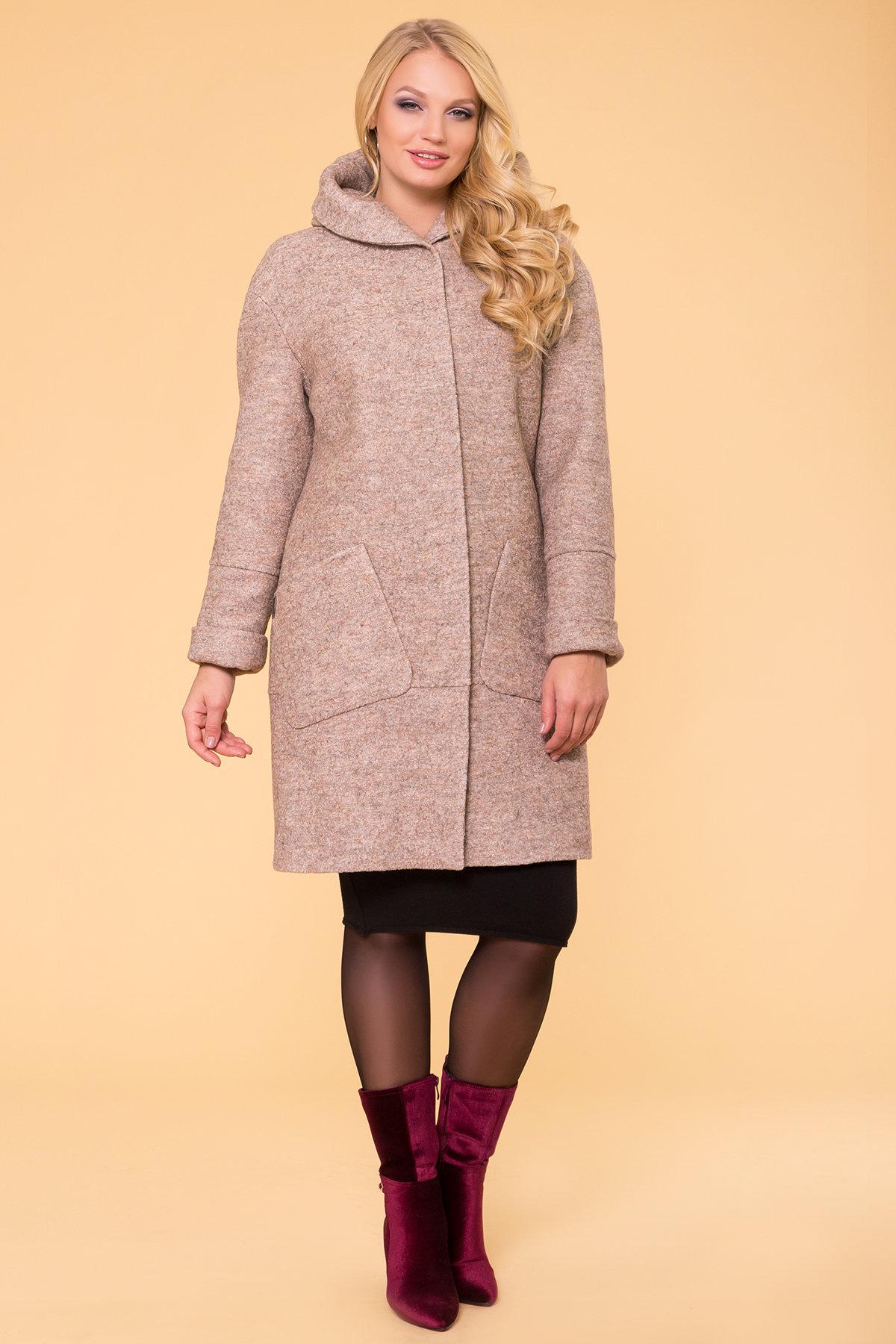 Пальто зима Анита Donna 3720 Цвет: Бежевый 13