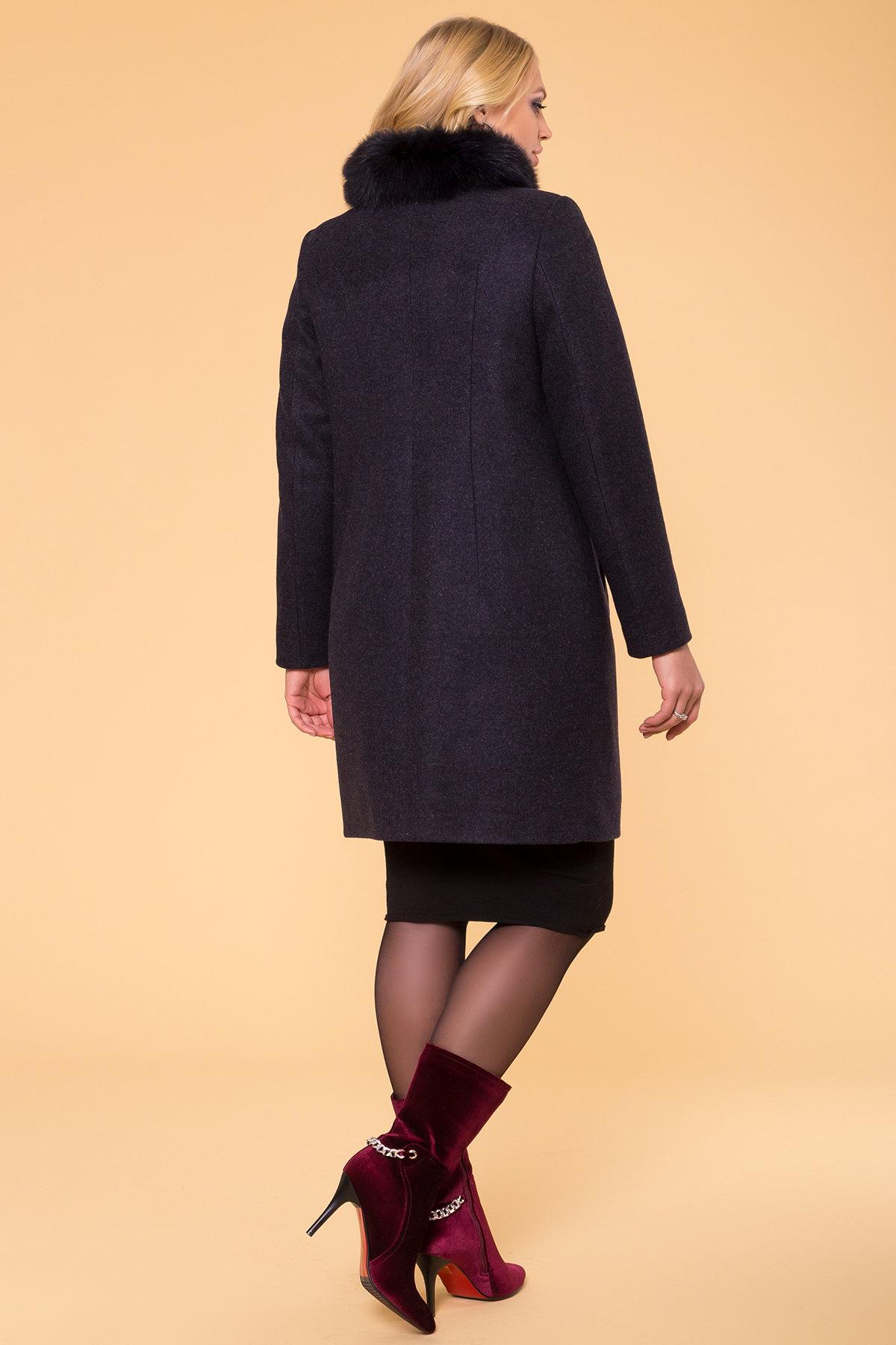 Пальто зима Фортуна лайт Donna 6024 Цвет: Т.синий