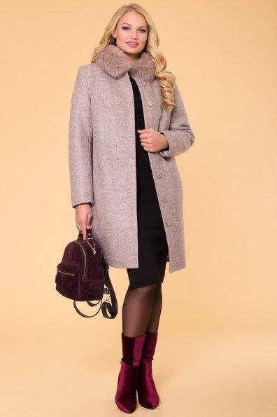 Пальто зима Фортуна лайт Donna 6024 Цвет: Бежевый 31