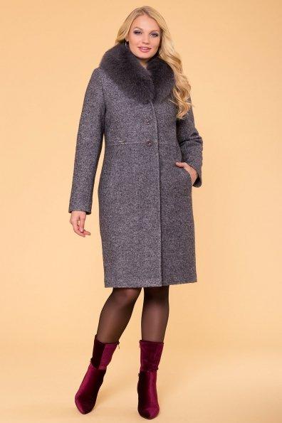Пальто зима Габриэлла Donna 6048 Цвет: Серый Темный LW-5