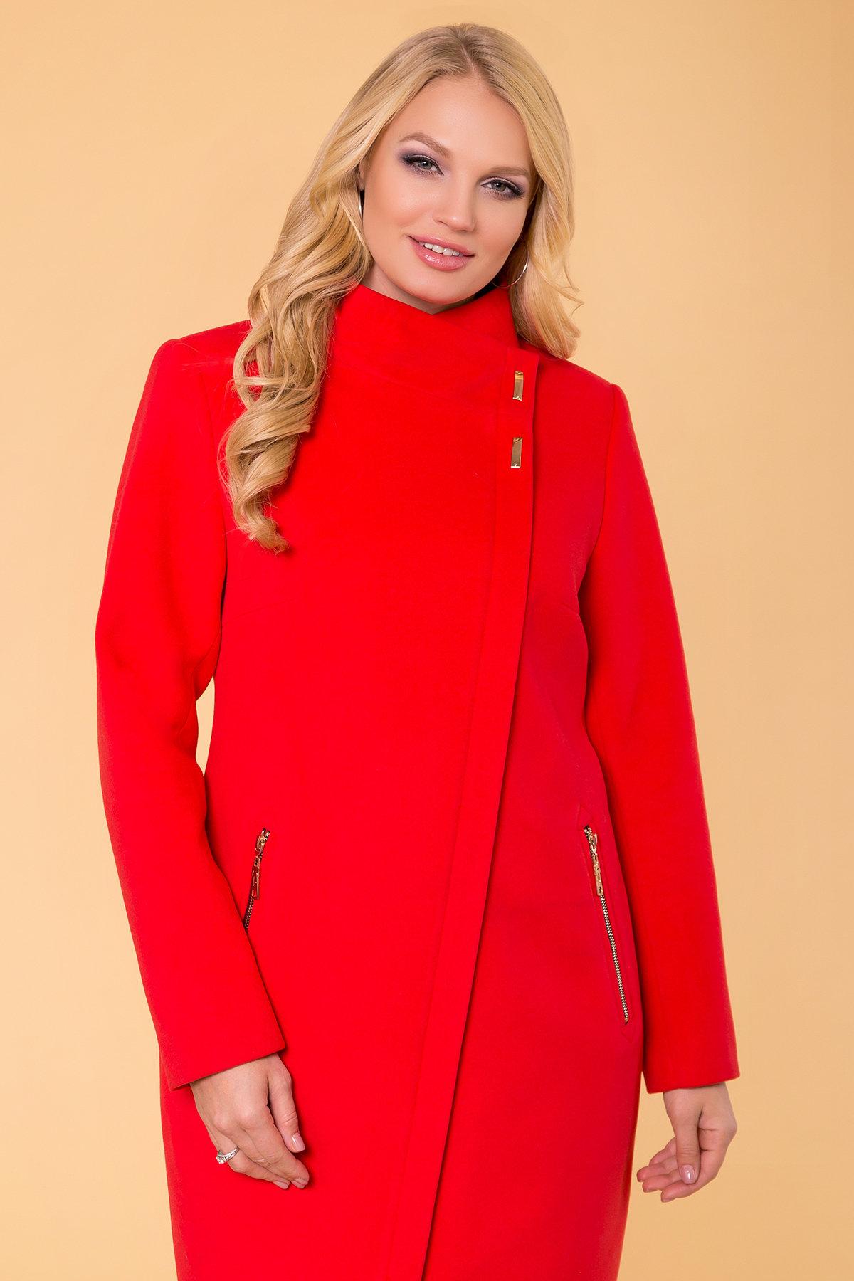 Пальто Эльпассо 1 Donna 1096 Цвет: Красный B-020