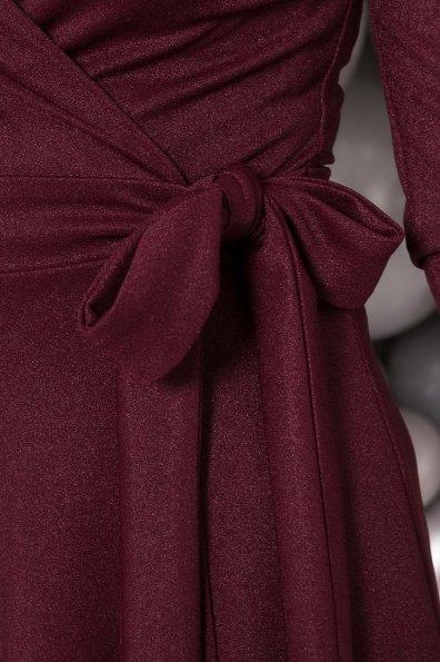 Платье миди Жозель 5863 Цвет: Марсала