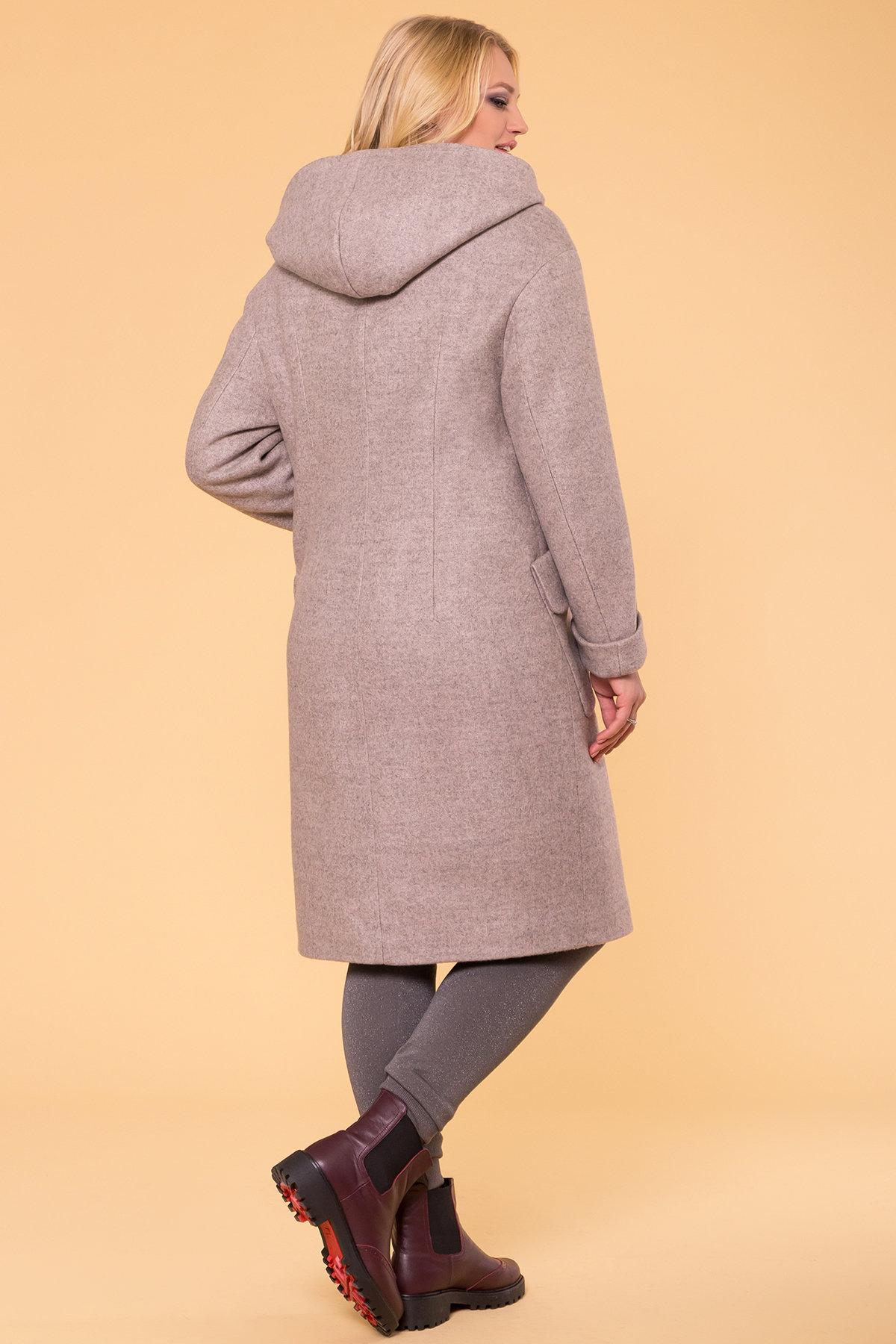 Пальто зима Анджи DONNA 5612 АРТ. 40691 Цвет: Бежевый 31 - фото 2, интернет магазин tm-modus.ru