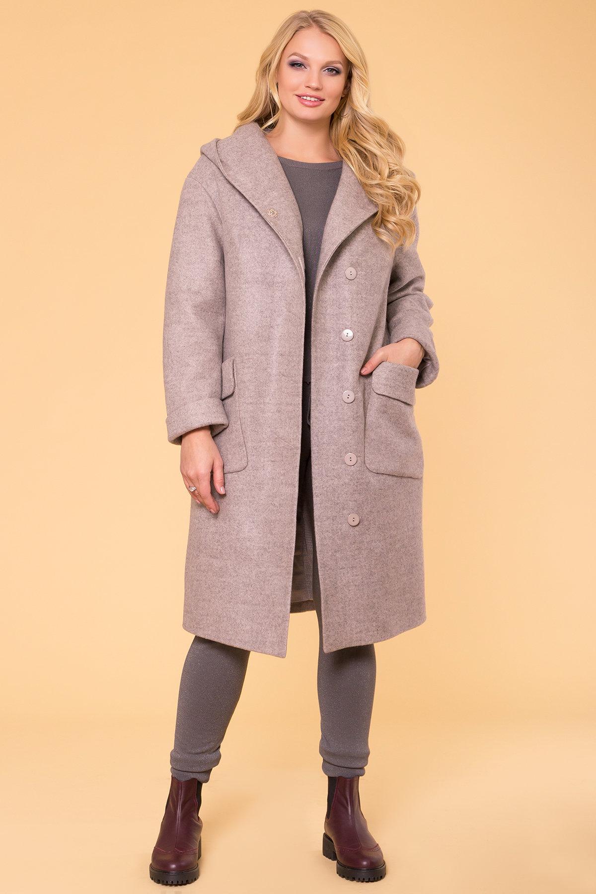 Пальто зима Анджи DONNA 5612 АРТ. 40691 Цвет: Бежевый 31 - фото 3, интернет магазин tm-modus.ru