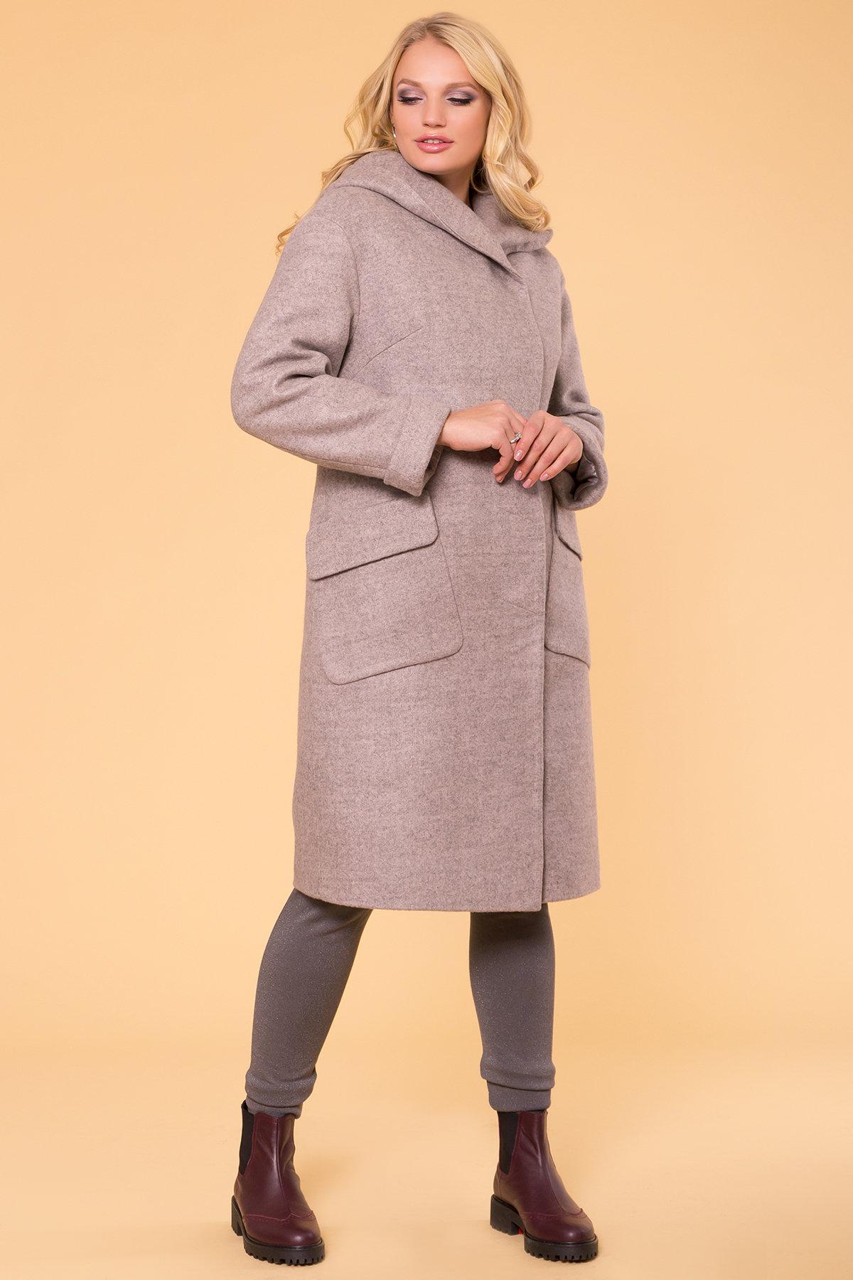 Пальто зима Анджи DONNA 5612 АРТ. 40691 Цвет: Бежевый 31 - фото 4, интернет магазин tm-modus.ru