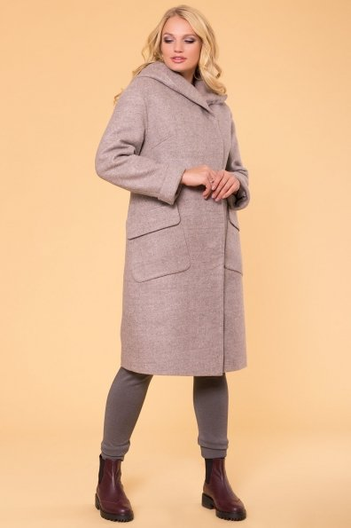 Пальто зима Анджи DONNA 5612 Цвет: Бежевый 31