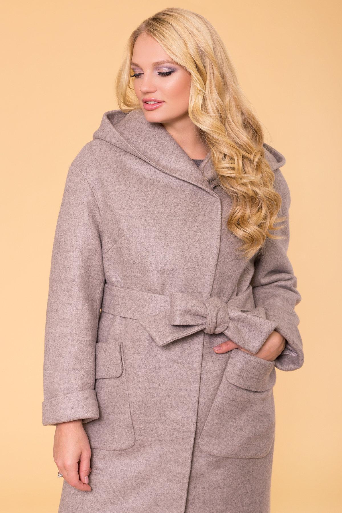 Пальто зима Анджи DONNA 5612 АРТ. 40691 Цвет: Бежевый 31 - фото 5, интернет магазин tm-modus.ru