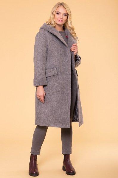 Пальто зима Анджи DONNA 5612 Цвет: Серый 18