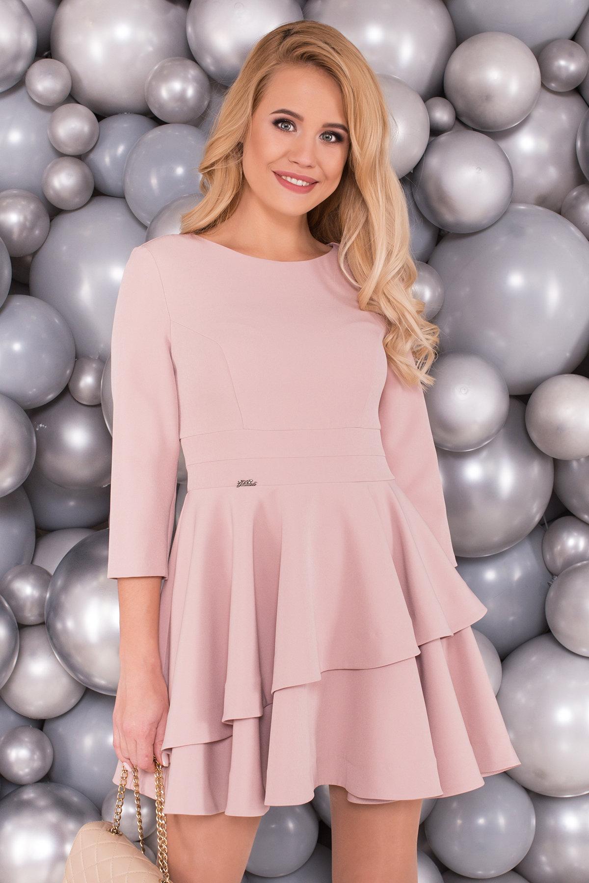 Платье Симур 5913 АРТ. 40635 Цвет: Пудра - фото 3, интернет магазин tm-modus.ru