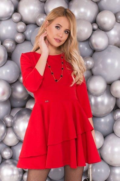 Платье Симур 5913 Цвет: Красный