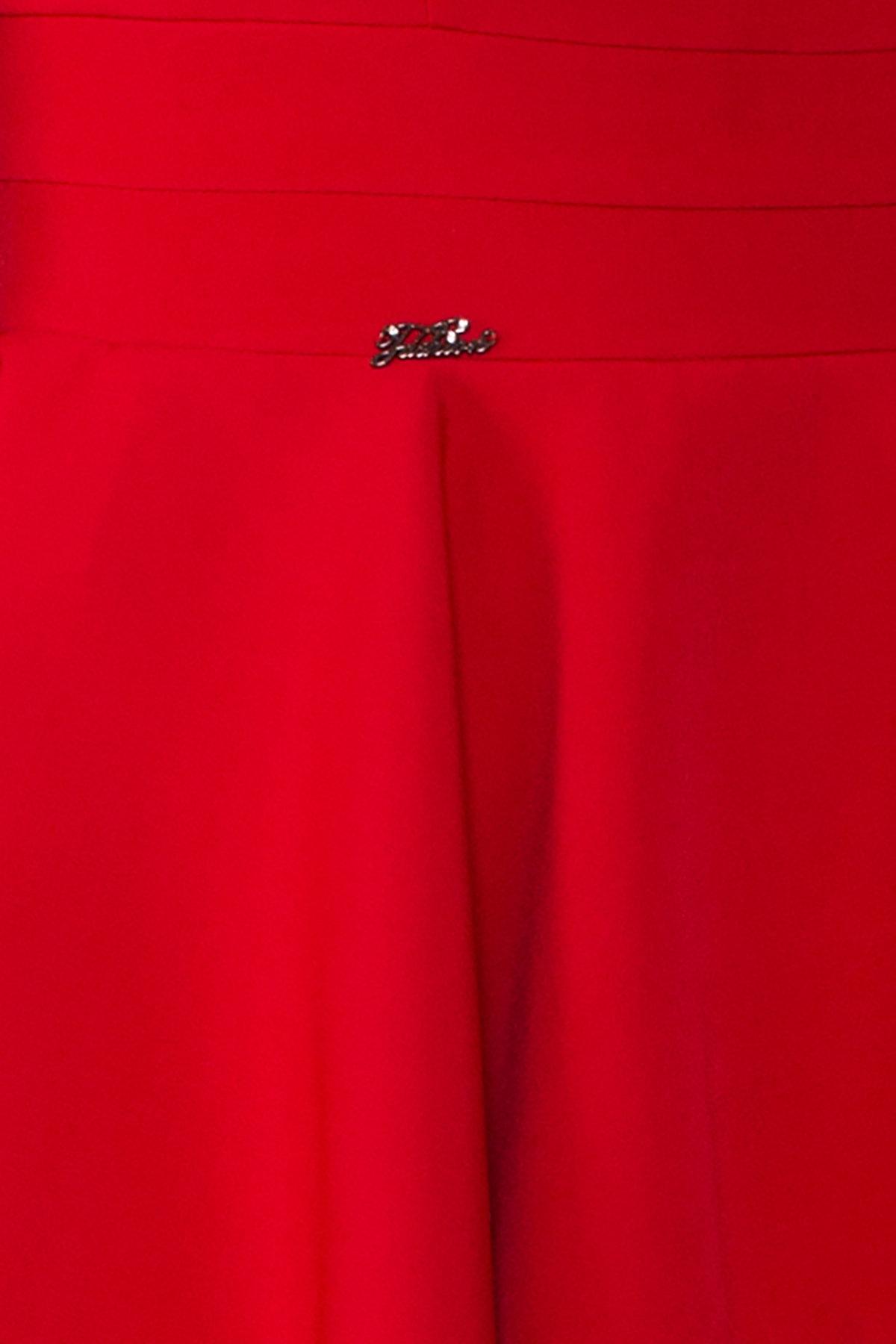 Платье Симур 5913 АРТ. 40634 Цвет: Красный - фото 4, интернет магазин tm-modus.ru