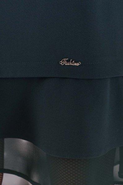 Платье Холли 5952 Цвет: Т.зеленый