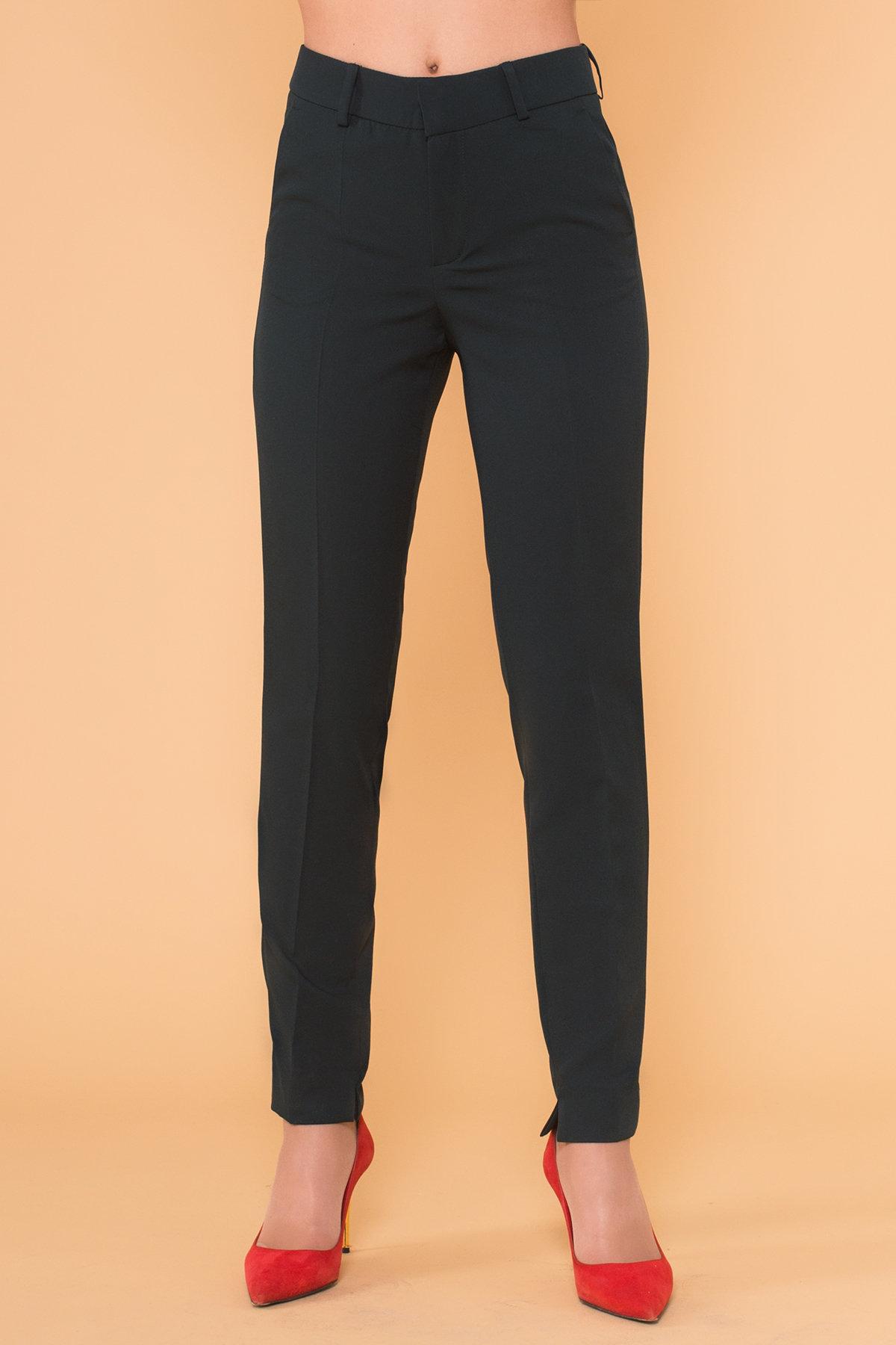 Базовые брюки со стрелками Эдвин 2467 АРТ. 17364 Цвет: Темно-зеленый - фото 3, интернет магазин tm-modus.ru