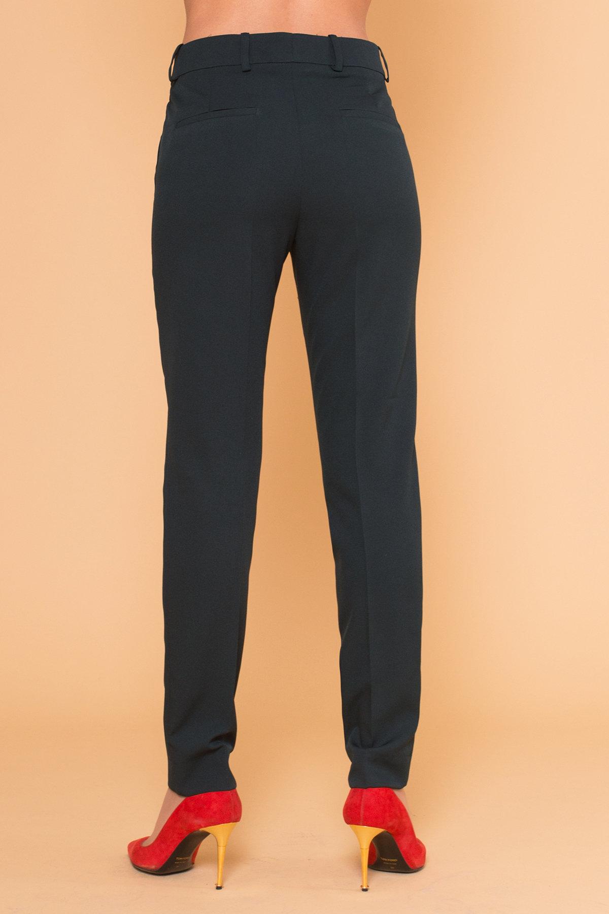 Базовые брюки со стрелками Эдвин 2467 АРТ. 17364 Цвет: Темно-зеленый - фото 4, интернет магазин tm-modus.ru