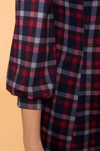 Платье Клеопатра 6104 Цвет: Красный/т.синий