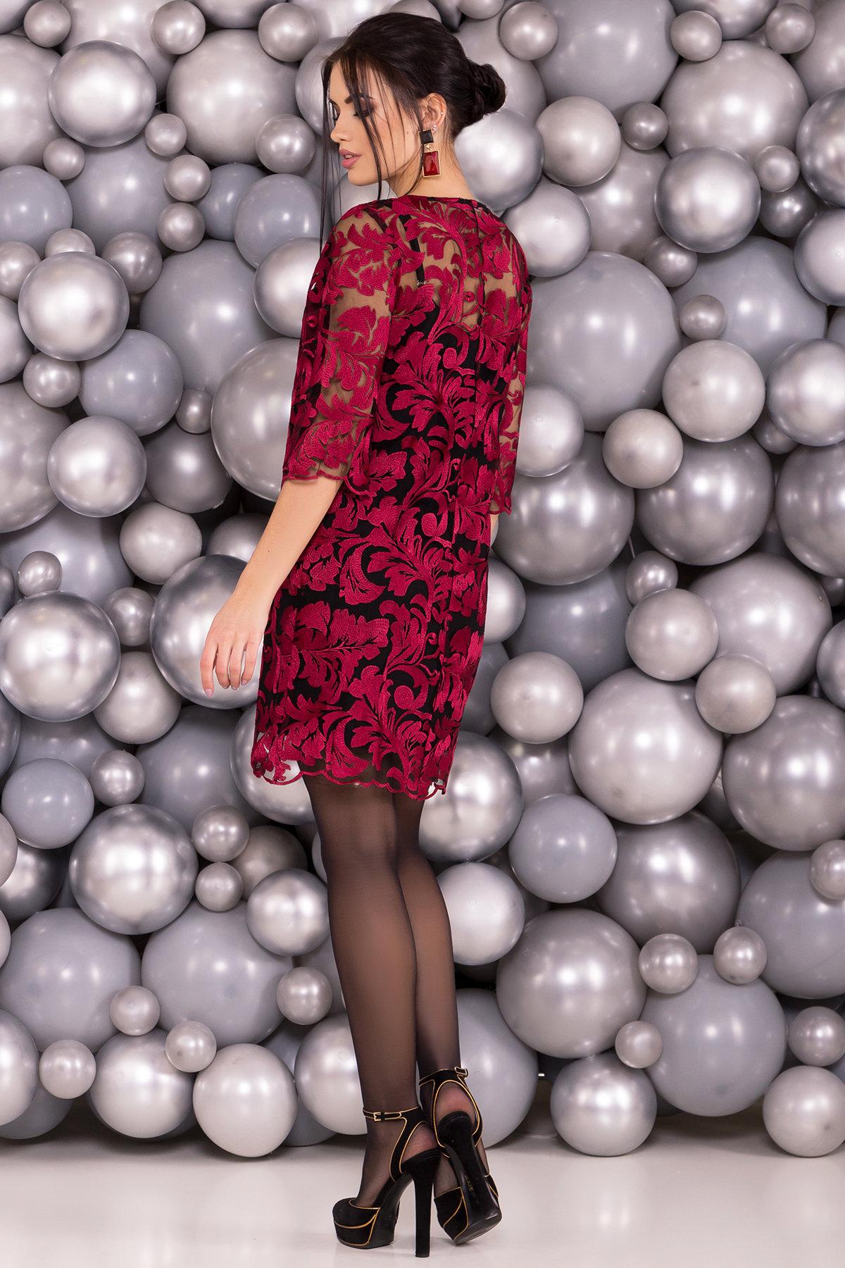 Платье Гейла 4135 Цвет: Марсала
