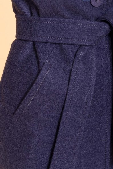 Пальто зима Камила 5611 Цвет: Джинс 57