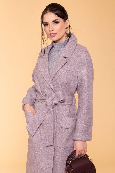 Пальто Парма 5678 Цвет: Серый/розовый 78