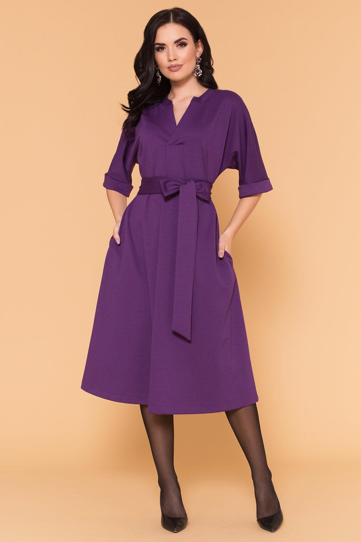 Платье Жаклин 6079 Цвет: Фиолетовый
